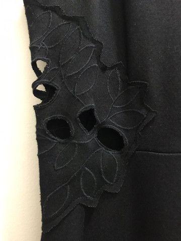 Vestido curto preto - Foto 3