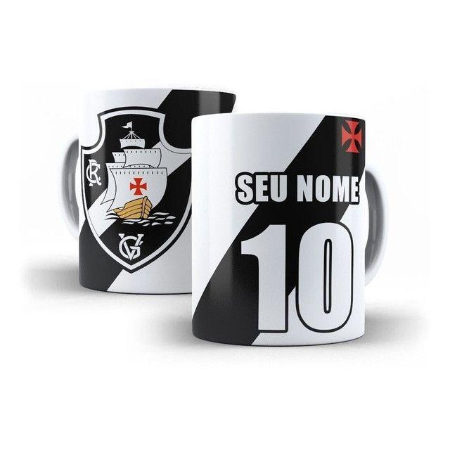 Caneca Vasco da gama Personalizada com nkme