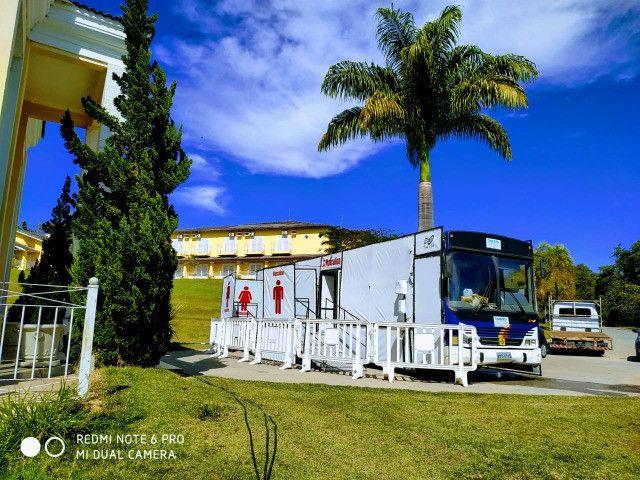 Ônibus banheiro Químico VIP  - eventos e festas