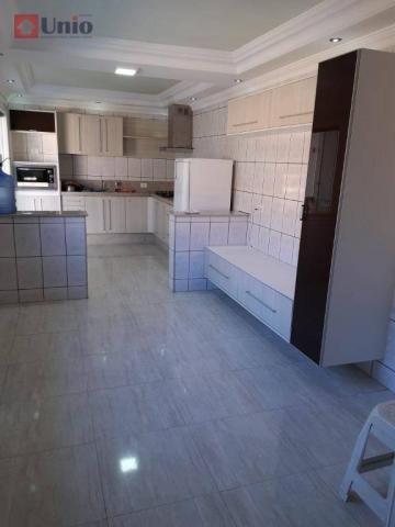 Casa com 3 dormitórios à venda, 220 m² por R$ 405.000 - Conjunto Residencial Mário Dedini  - Foto 9