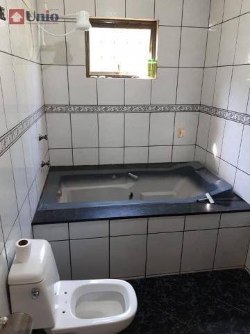 Casa com 3 dormitórios à venda, 220 m² por R$ 405.000 - Conjunto Residencial Mário Dedini  - Foto 10