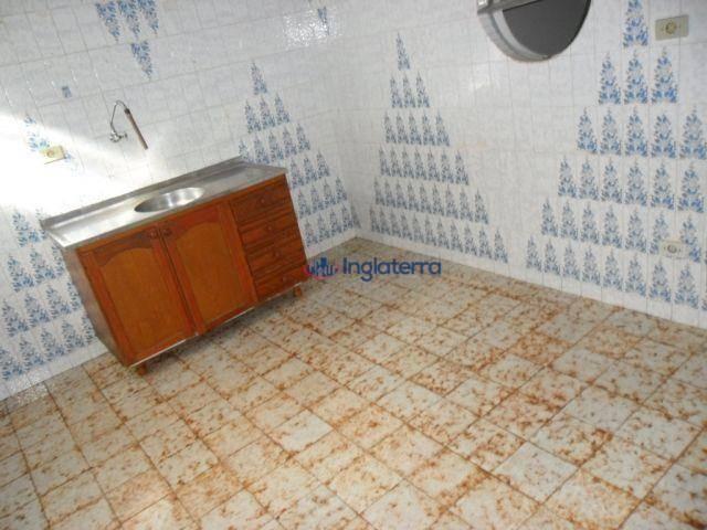 Casa para alugar, 100 m² por R$ 1.050,00/mês - Califórnia - Londrina/PR - Foto 17