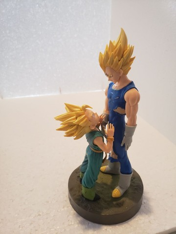 Combo Dragon Ball Z Quadro Cerâmica e Action Figure - Foto 5