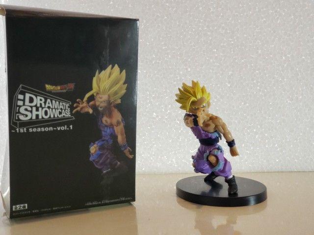 Combo Dragon Ball Z Quadro Cerâmica e Action Figure - Foto 4