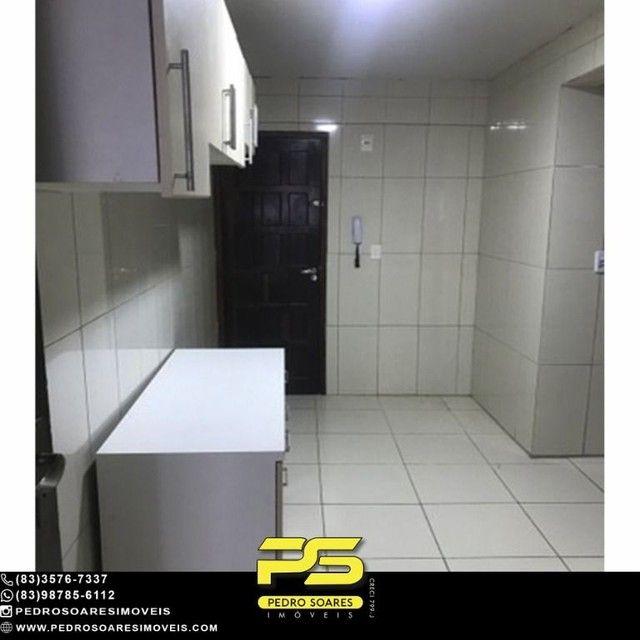 Apartamento com 3 dormitórios para alugar, 90 m² por R$ 1.700/mês - Aeroclube - João Pesso - Foto 6