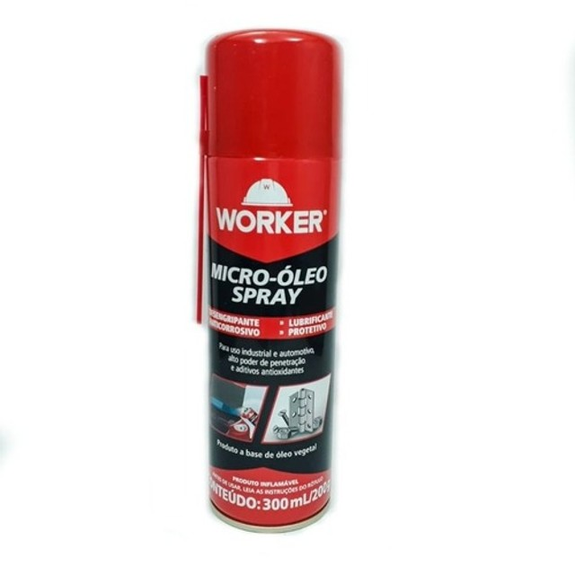 Micro-Óleo Spray Worker 300ml/200g Desengripante