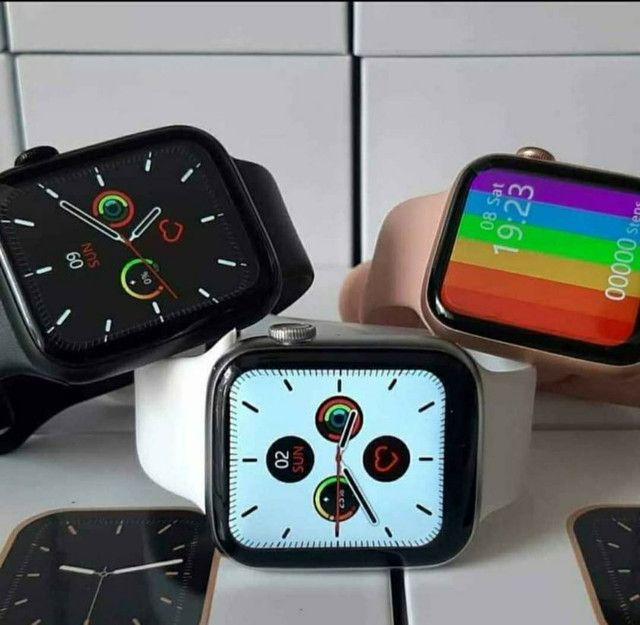 Smartwatch IWO 13 Lite(IWO W26+)Séries 6 Tela infinita, c/pulseira extra e película. - Foto 4