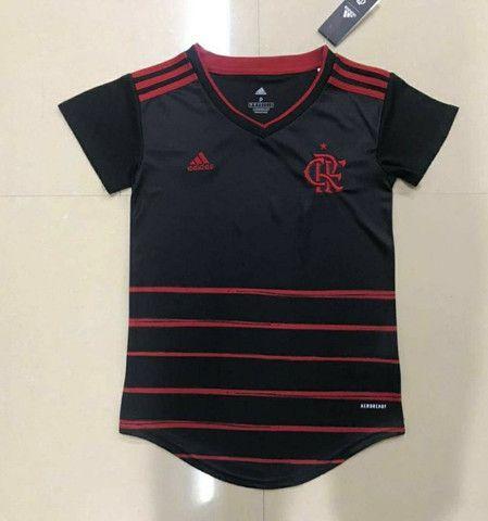 Camisas de clubes feminino - Foto 2