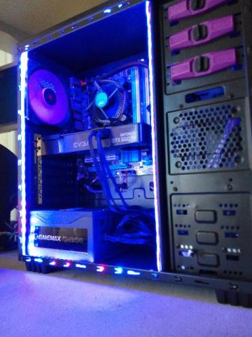 Pc Gamer Intel Core i5 3470-SSD 120GB-4gb Mem-Fonte600w Placa video evga Geforce 660Ti 2GB