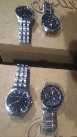 Relógios masculino marcas Armani eRelic