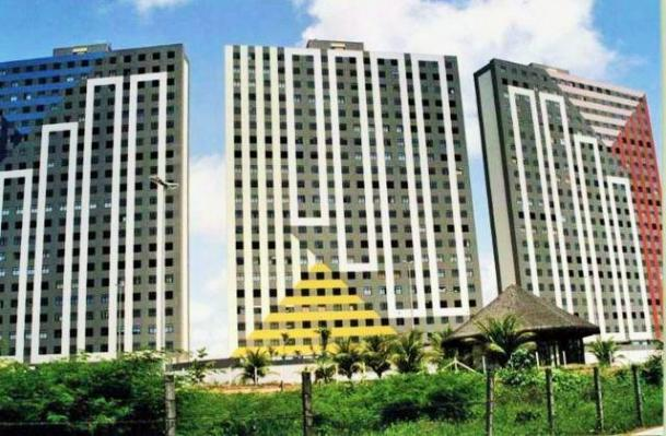 Apartamento Mobiliado no Condomínio Corais de Cotovelo 98m²;