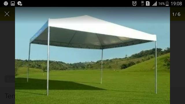 Lona 6x6 tenda piramidal