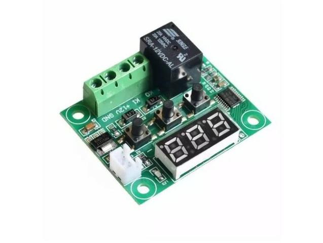 COD-AM35 Termostato Digital W1209 Chocadeira Controle De Temperatura - Foto 3