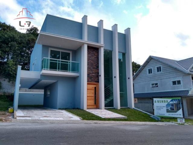 Sobrado com 3 dormitórios à venda, 196 m² por R$ 590.000 - Campo Pequeno - Colombo/PR