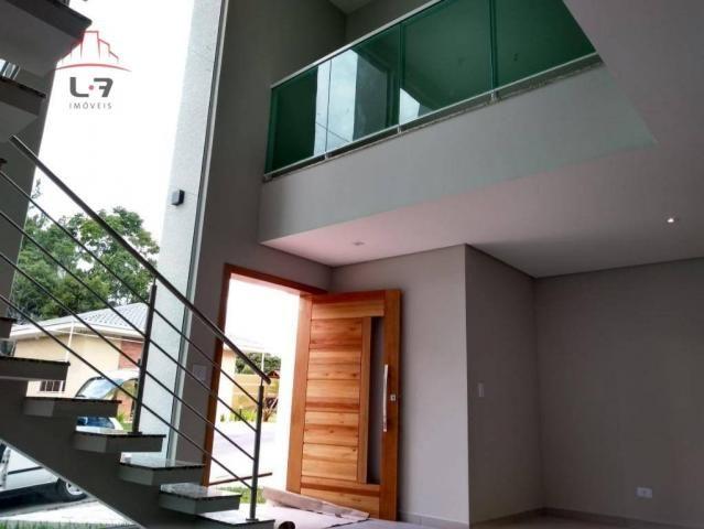 Sobrado com 3 dormitórios à venda, 196 m² por R$ 590.000 - Campo Pequeno - Colombo/PR - Foto 3