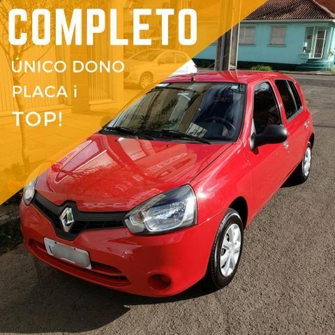 Renault clio expression 1.0 16v 4 portas completo 2013/2014 *único dono* placa i