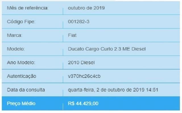 Ducato 2010 único Dono - Valor R$7.000,00 abaixo da tabela!!! - Foto 6