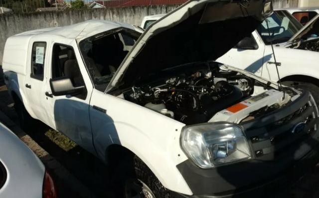 Sucata Ford Ranger XL 4x4 3.0 (Cab Dupla) 2011 para Retirada de Peças