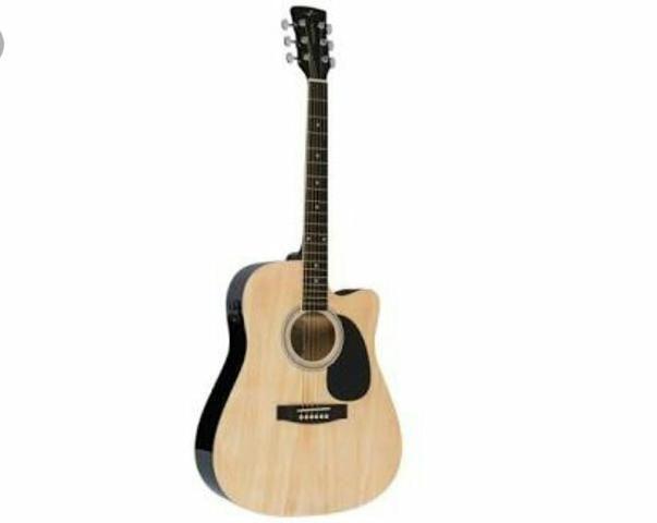 Vende-se violão NUNCA USADO, ACEITO CARTÃO E PARCELO!