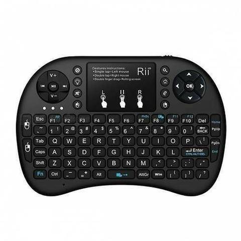 Rii 2.4rt-mwk08+ Ghz Wireless 92-key Keyboar Pronta Entrega