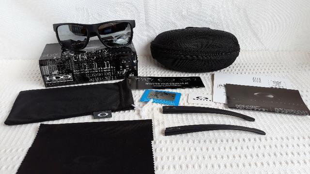 879b1f03c Óculos Oakley Crossrange XL Preto/Prata Polarizado - Importado e Novo