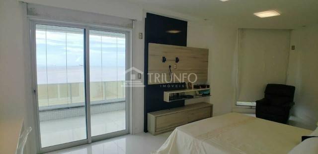 FH - Apartamento Casa do Morro 400 m², 5 suítes, 5 vagas, Frente Mar - Ponta do Farol - Foto 4