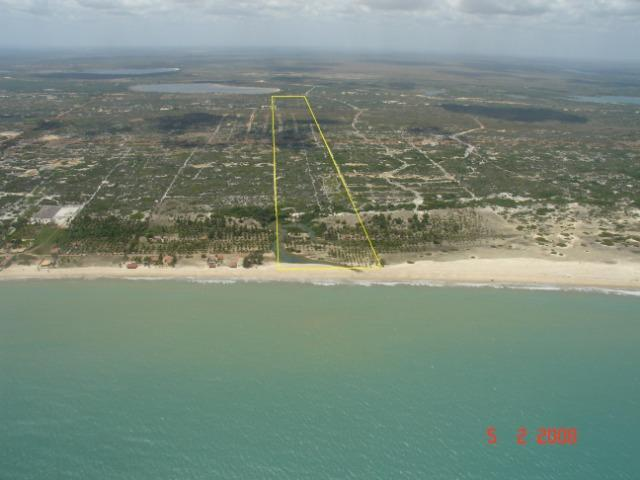 Vendo Área na beira mar da Praia de Pititinga