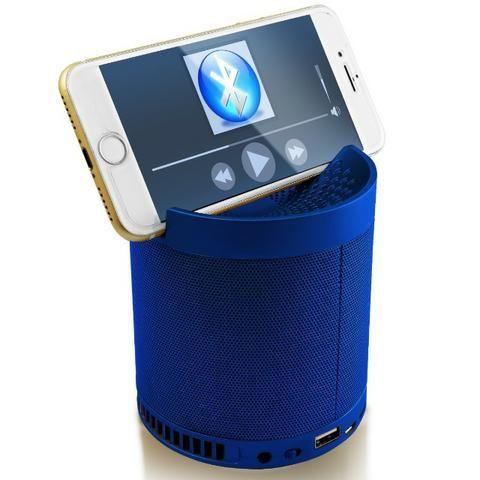 Caixa de Som Bluetooth com Suporte para Celular - NOVO - (Whats 99266-5951) - Foto 4