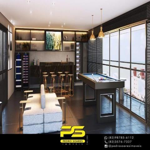 Apartamento com 2 dormitórios à venda, 60 m² por R$ 468.000 - Cabo Branco - João Pessoa/PB - Foto 12
