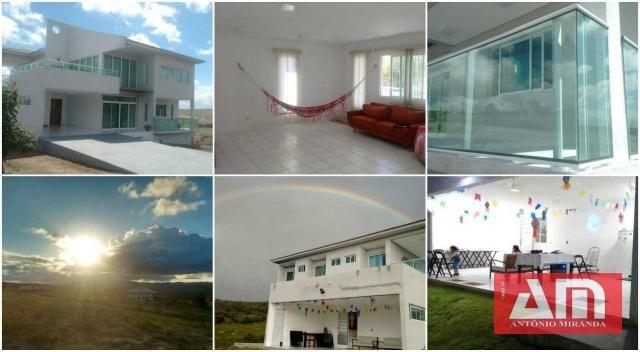 Casa com 5 dormitórios à venda, 515 m² por R$ 900.000,00 - Alpes Suiços - Gravatá/PE