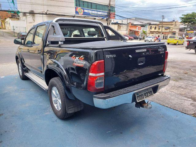 Toyota Hilux CD 2.7 SRV 4X4 Flex com GNV - Foto 6