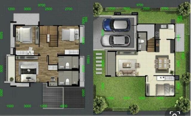 Vendo Casa de 04 quartos 223m2 - Foto 2