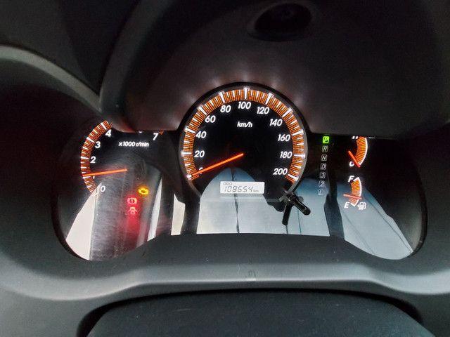 Toyota Hilux CD 2.7 SRV 4X4 Flex com GNV - Foto 9