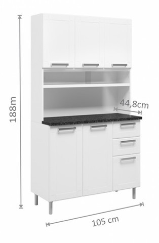 Armario de cozinha em AÇO *pague na entrega - Foto 2