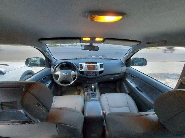 Toyota Hilux CD 2.7 SRV 4X4 Flex com GNV - Foto 8