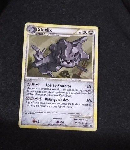 Cards TCG Pokémon tipo Noturno e Metálico - Foto 4