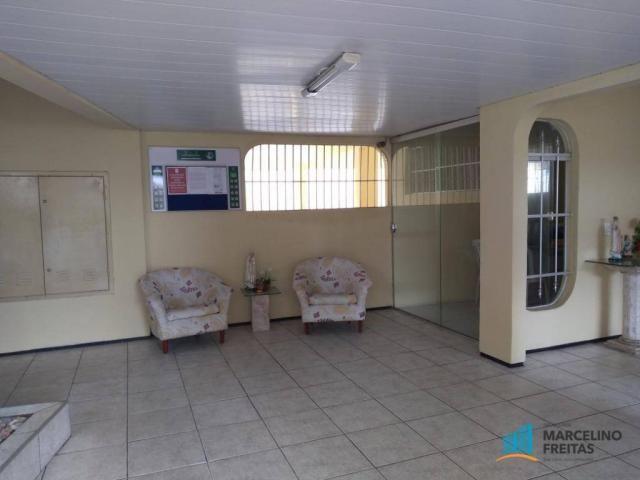 Apartamento com 3 dormitórios para alugar, 112 m² por R$ 999,00/mês - São Gerardo - Fortal - Foto 6