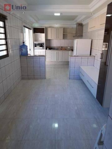 Casa com 3 dormitórios à venda, 220 m² por R$ 405.000 - Conjunto Residencial Mário Dedini  - Foto 7