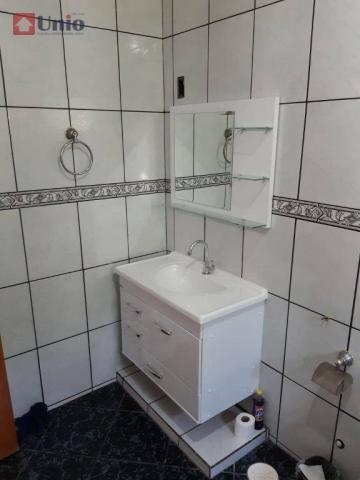 Casa com 3 dormitórios à venda, 220 m² por R$ 405.000 - Conjunto Residencial Mário Dedini  - Foto 12