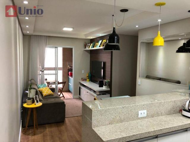 Apartamento com 3 dormitórios à venda, 68 m² por R$ 390.000 - Alto - Piracicaba/SP - Foto 14