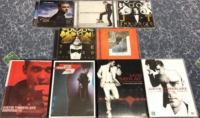 Justin Timberlake (Coleção Completa) Cd?s e Dvd?s