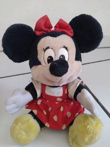 Mickey e Minnie de pelúcia Original - Foto 2