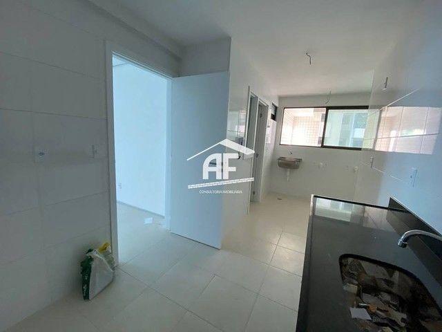 Apartamento Novo com vista total para o mar - 3/4 (2 suítes) - confira - Foto 9