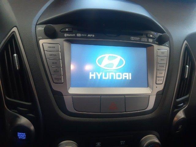 Hyundai IX35 Gls 2.0 Aut Flex 2017, Multimidia, Couro, Unica Dona, Periciada - Foto 7