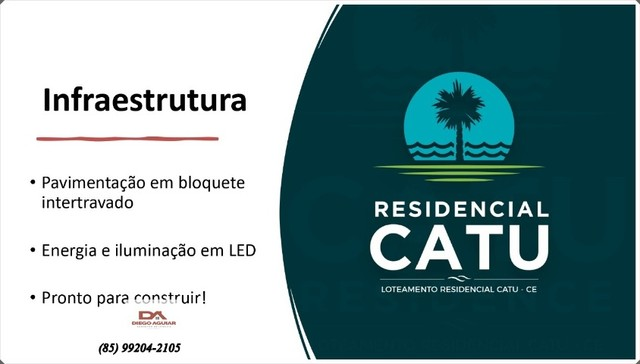 Residencial Catu - Lote padrão de 360m² (12m x 30m) ªº - Foto 4