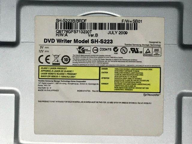 Leitor e gravador de DVD Samsung SH-S223 - Foto 4