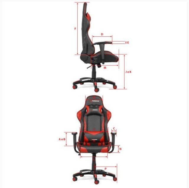 Cadeira Gamer Xperience PRO Vermelha - Foto 6