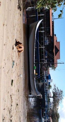 Canoa de fibra - Foto 5