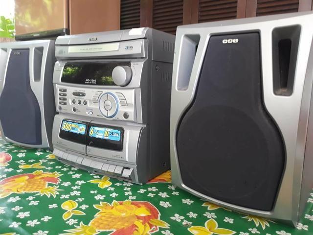 Máquina de lavar Eletrolux 6kg + Som CCE 500wtts
