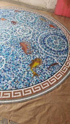 Golfinho para Piscina mosaico - Foto 6